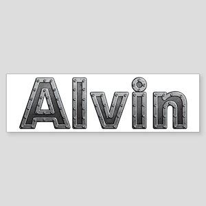 Alvin Metal Bumper Sticker