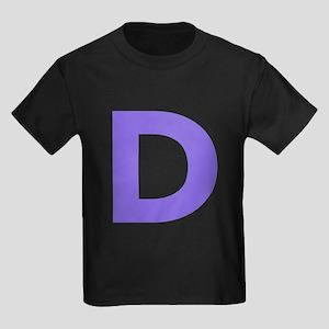Letter D Purple T-Shirt