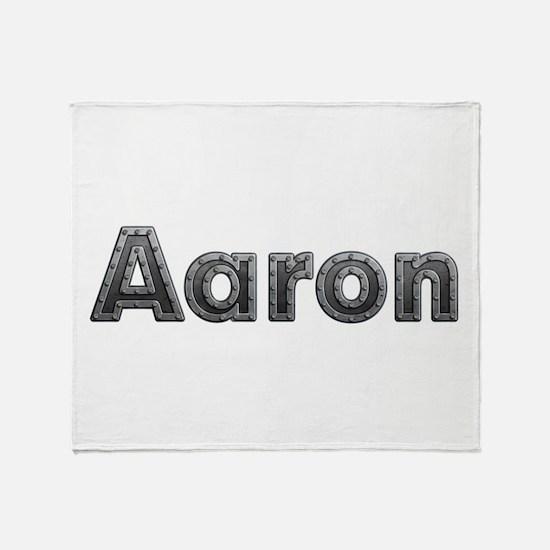 Aaron Metal Throw Blanket