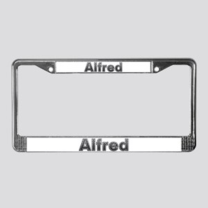 Alfred Metal License Plate Frame