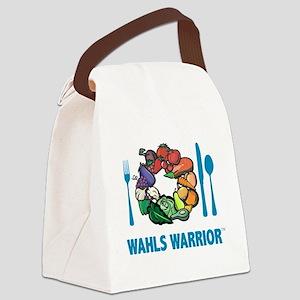 Wahls Warrrior blue Canvas Lunch Bag