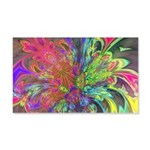Bright Burst of Color 20x12 Wall Decal