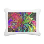 Bright Burst of Color Rectangular Canvas Pillow