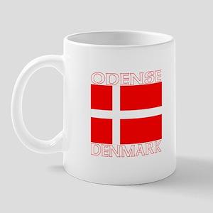 Odense, Denmark Mug
