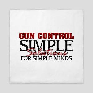 Gun Control Queen Duvet