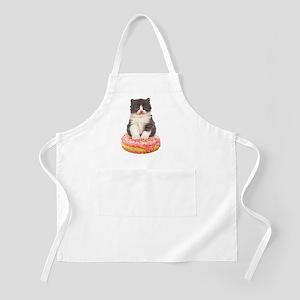 Kitten on a Donut Apron