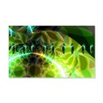 Dawn of Time Abstract 20x12 Wall Decal
