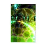 Dawn of Time Abstract Mini Poster Print