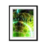 Dawn of Time Abstract Framed Panel Print