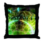 Dawn of Time Abstract Throw Pillow