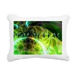 Dawn of Time Abstract Rectangular Canvas Pillow