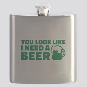 You look like I need a beer Flask