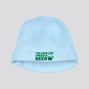 You look like I need a beer baby hat