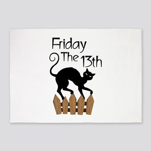 Friday The 13th 5'x7'Area Rug