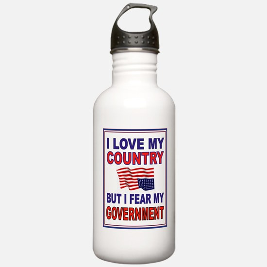 LOVE THE USA Water Bottle