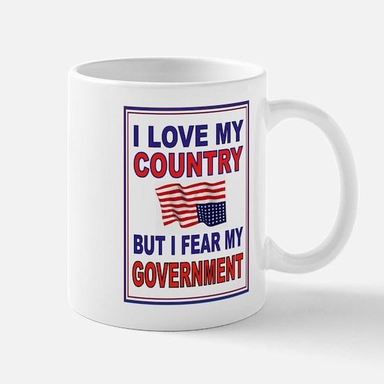 LOVE THE USA Mugs