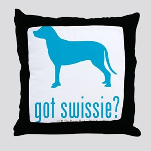 Greater Swiss Mountain Throw Pillow