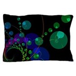Abstract Dance of the Spheres Pillow Case