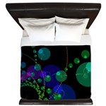 Abstract Dance of the Spheres King Duvet