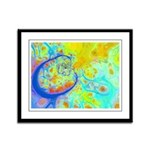 Emerging Galaxies Framed Panel Print