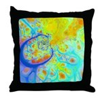 Emerging Galaxies & Currents Throw Pillow