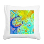 Emerging Galaxies Square Canvas Pillow