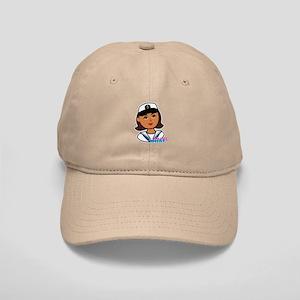 Dark Navy Head - Dress Whites Cap