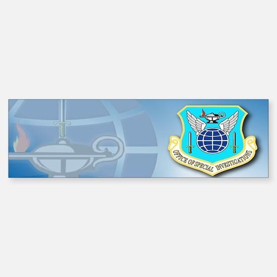 USAF OSI Sticker (Bumper)