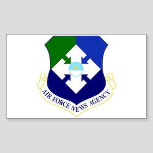 USAF News Agency Sticker (Rectangle)