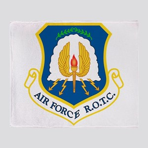 Usaf Rotc Throw Blanket