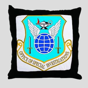 USAF OSI Throw Pillow