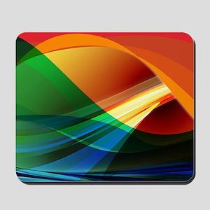 Colorful Abstract Art Mousepad