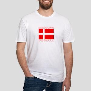Kobenhavn, Denmark Fitted T-Shirt