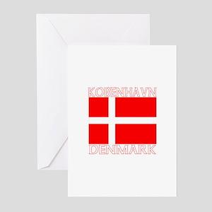 Kobenhavn, Denmark Greeting Cards (Pk of 10)