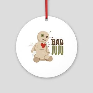 Bad JuJu Ornament (Round)