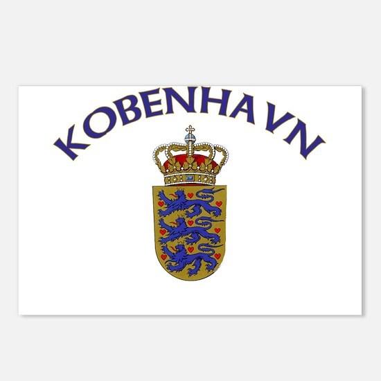 Kobenhavn, Denmark Postcards (Package of 8)