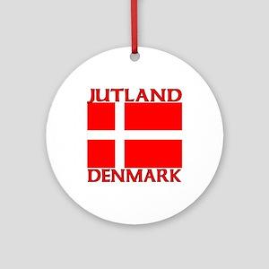 Jutland, Denmark Ornament (Round)