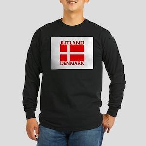 Jutland, Denmark Long Sleeve Dark T-Shirt