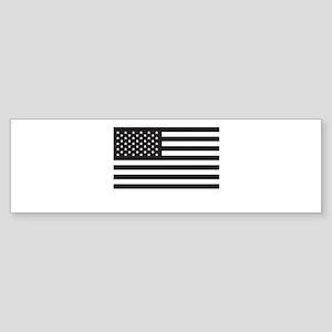Subdued US Flag Tactical Bumper Sticker