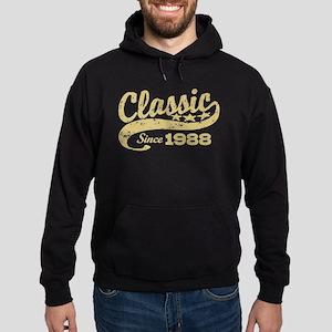 Classic Since 1988 Hoodie (dark)