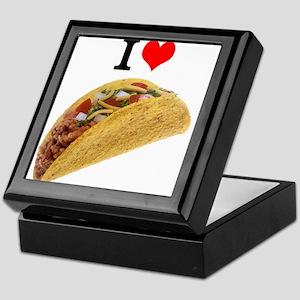 I Love Tacos Keepsake Box