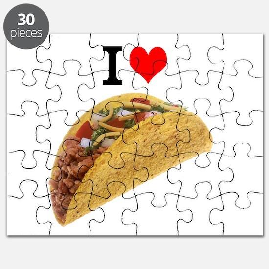 I Love Tacos Puzzle