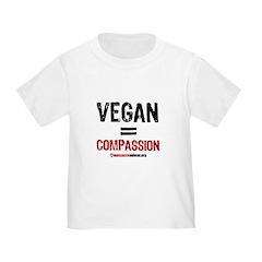 compassion-vegan-pins-01 T-Shirt