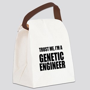 Trust Me, Im A Genetic Engineer Canvas Lunch Bag