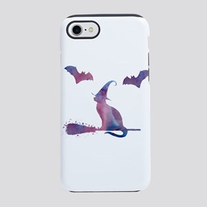 A scary cat! iPhone 7 Tough Case