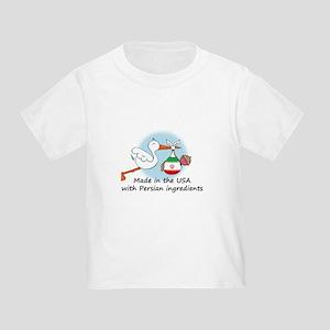 Stork Baby Iran USA Toddler T-Shirt