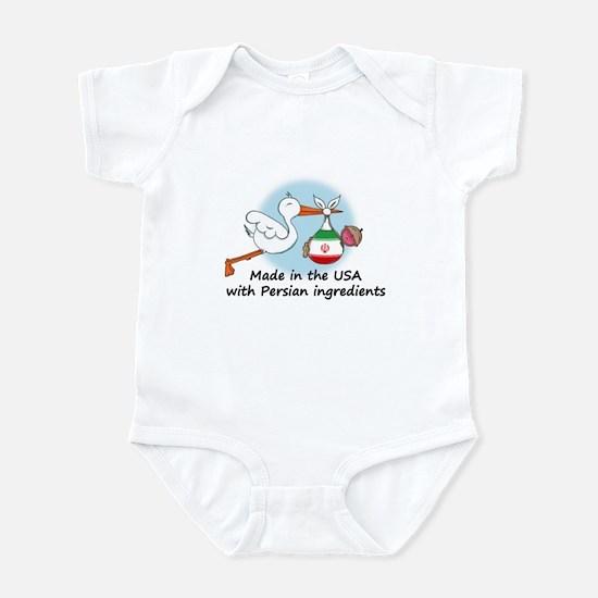 Stork Baby Iran USA Infant Bodysuit