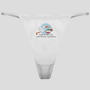 Stork Baby Iran USA Classic Thong