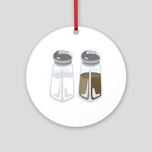 Salt Pepper Shakers Ornament (Round)