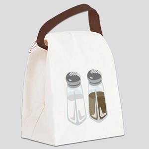 Salt Pepper Shakers Canvas Lunch Bag